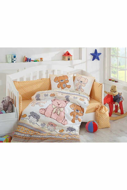 Baby duvet cover set yellow yellow 712823934201