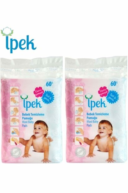 Baby Cleaning Cotton 120 Pcs (2Pk * 60) PACKAGE