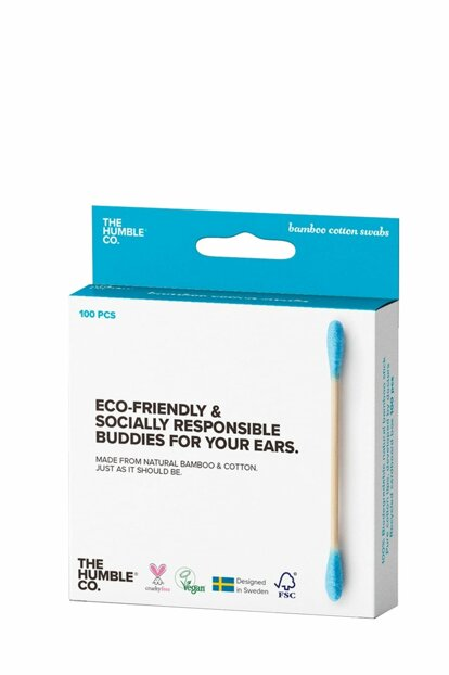 The Humble Co Ear Cleaning Stick Blue 100 Pcs 7350075692574