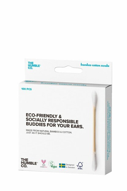 The Humble Co Ear Cleaning Stick White 100 Pcs 7350075692567