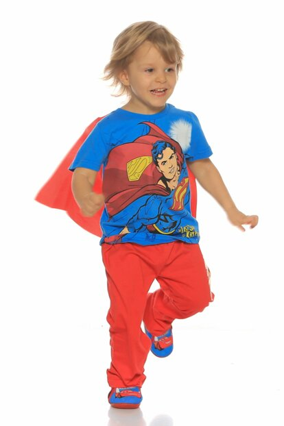 D- Kids Superman Pajamas Set DK6P06
