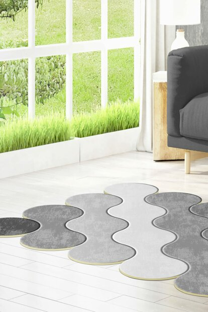 80x150 Dekoreko Figured Private Cut Carpet 117 Gray AKC_Eugene-V3_4664_1