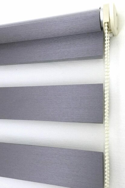 150X200 Zebra Curtain Queen Shiny Metallic Anthracite Roller 150X200-EY-BY-SAG-001KRC-07