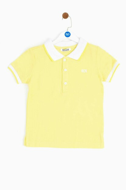 Baby Boy Yellow T-Shirt 19SS0RR1523