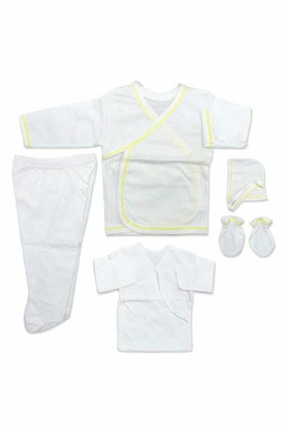 Yellow Bound Plain Baby 5 Li Hospital Outlet Kit K252
