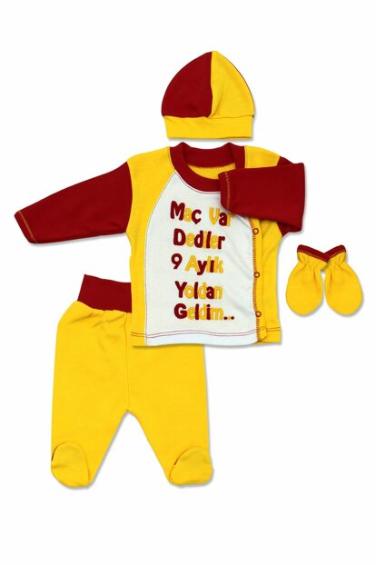 Yellow Red Baby Suit K231
