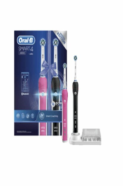 Oral B Rechargeable Toothbrush Smart 4 4900 2 li Advantage Pack oralb4900