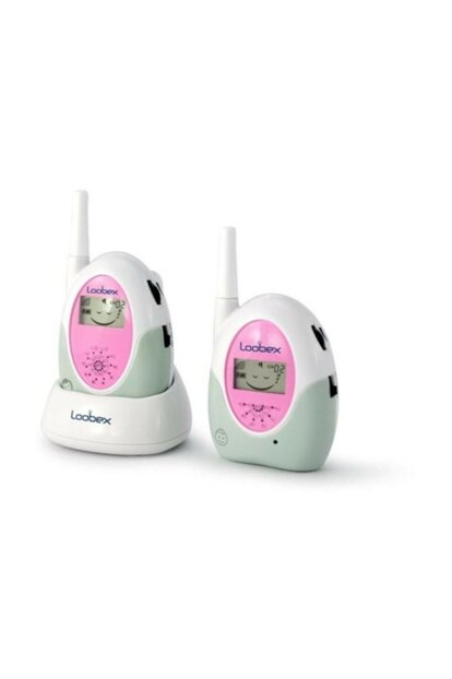 Lbx2615 Lcd Display Baby Monitor Pink LOX-LBX2615