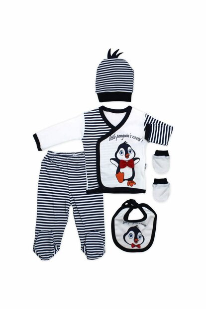 5 Li Newborn Baby Set K2867 with Penguin