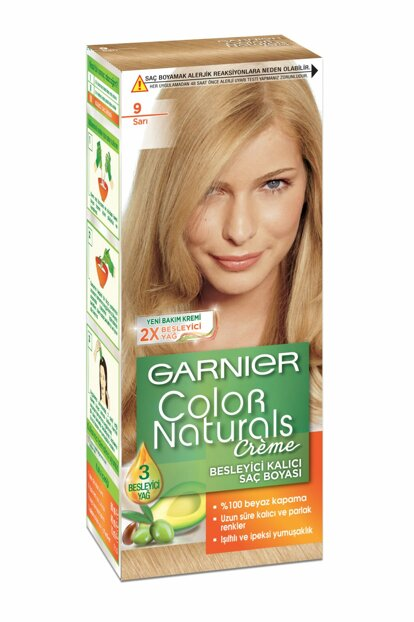 Hair Dye - Color Naturals TR 9 Yellow 3600540310422