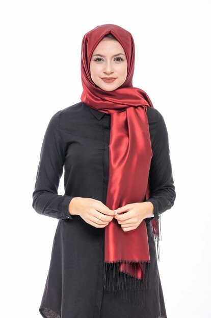 Red-Black Taffeta Shawl10100218100104