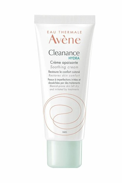 Dried and Oily Skin Soothing Cream - Cleanance Hydra Cream 40 ml 3282770100891