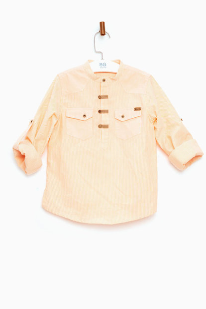 Orange Boys' Shirts 18SS0RF3607 18SS0RF3607
