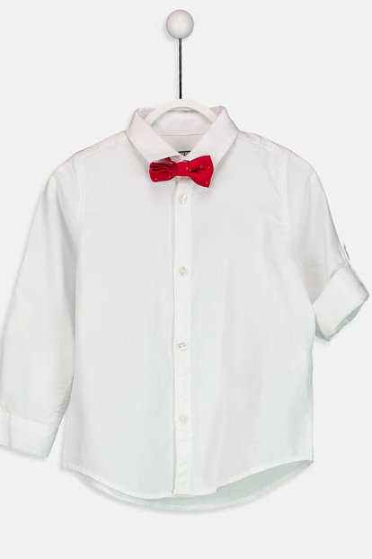 Boy's Shirt and Bow Tie 8W6354Z4