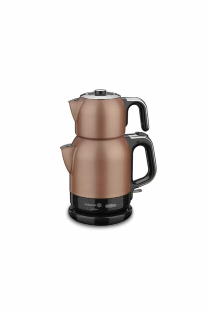 A331-02 Korkmaz Caytema Rosagold / Chrome Electric Tea Pot