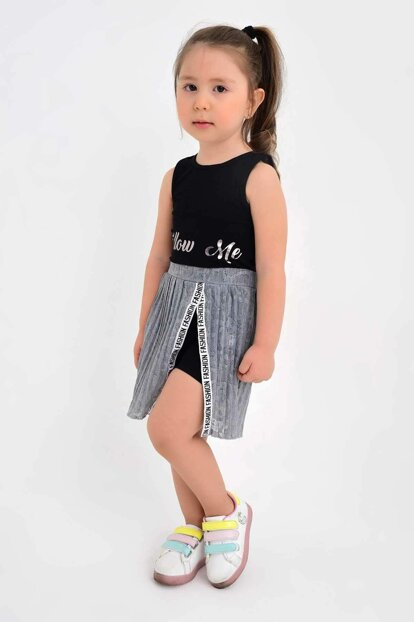Girls' Shorts Pleated Skirt 2-7 Years Old 2751 CB-CK2751