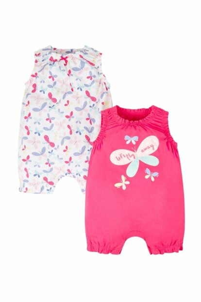 Baby Girl Body Io Girls 2Pk This / Pink / 098 PH602