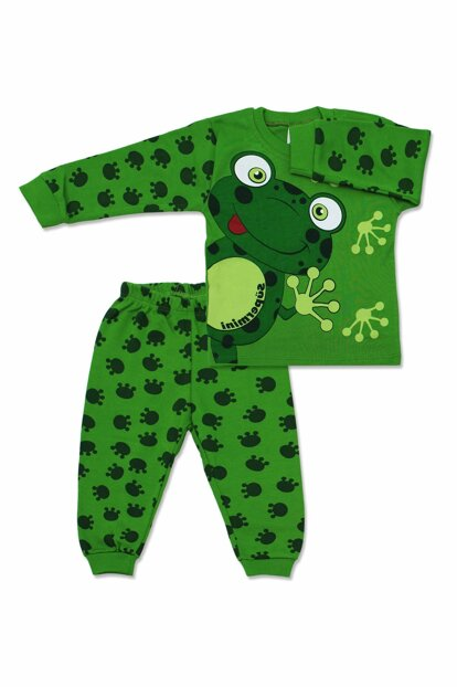 Frog 2 Piece Baby Pajamas Set K357