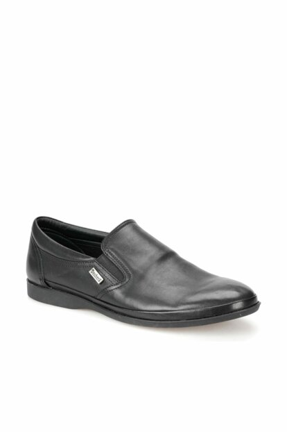 Men's Genuine Leather Black Shoes 000000000100368124
