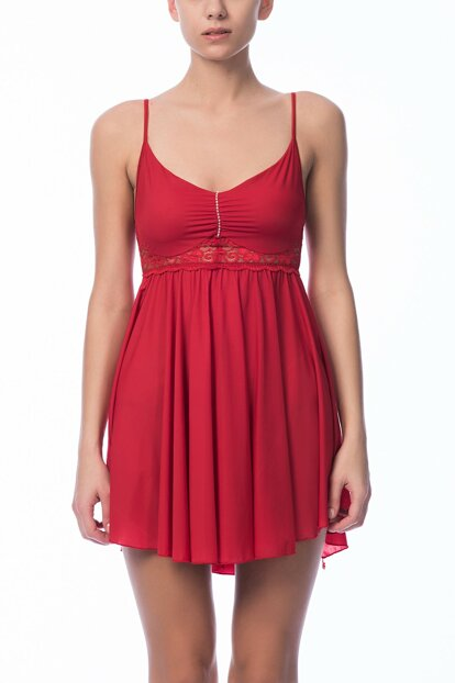 Women's Red Nightgown NBB 3931