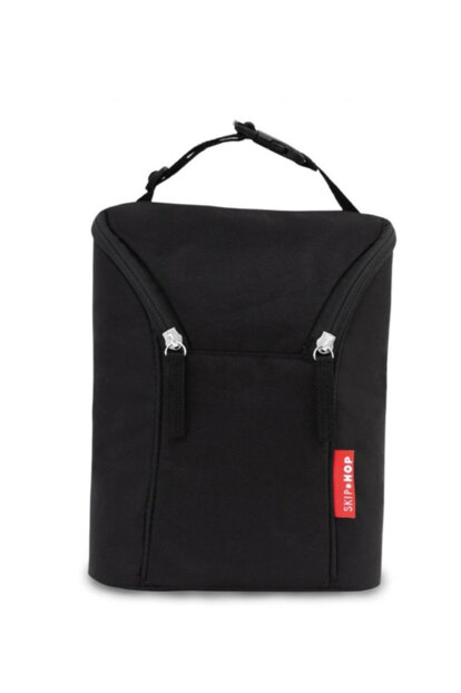 Grab & Go Double Feeding Bottle Bag Black 35957
