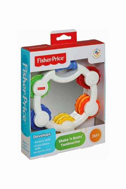 Fisher Price Toy Colorful Tambourine Blt37 / 37115
