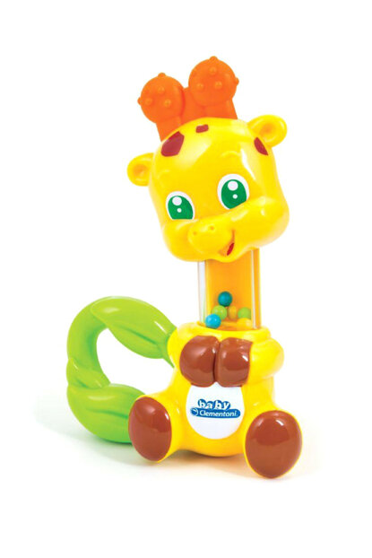 Clementoni Baby Giraffe Rattle +3 Months / CLE14994