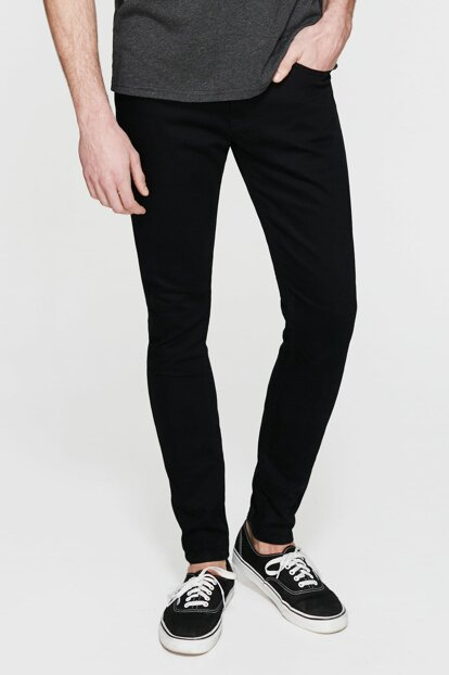 Men's Leo Black Super Skinny Jean 0076223313