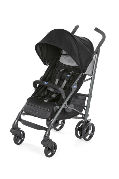 Chicco Lite Way 3 Walking Stick Baby Stroller Black / 8079595510000