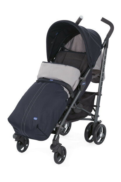 Chicco Lite Way 3 Top Baby Stroller India Ink / 5079595390000