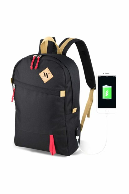 My Valice Smart Bag Freedom Usb Charging Port Smart Backpack Black / MV5038