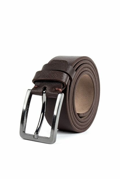 Men's Brown Sport Belt - KM16012-177
