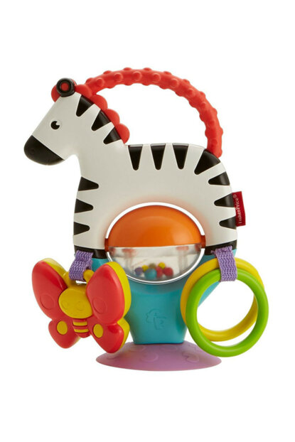 Fisher Price Cute Zebra Feeding Chair Toy / FGJ11