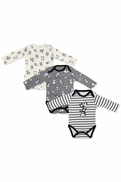 Panda Figured 3 Pcs Badi Baby Set K2676