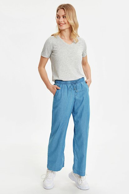 Women's L Stone Wash Pants 9S6298Z8