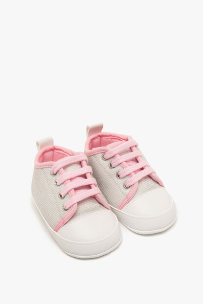 Silver Baby Girl Shoes 8YMG22029AA