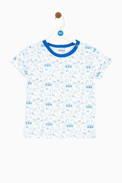 Baby Boy Patterned T-Shirt 19SS0RR1503