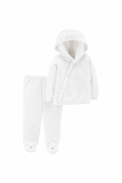 White Layette Baby Set of 2 126H525