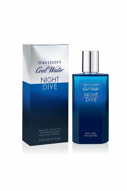 Cool Water Night Dive Edt 75ml Perfume & Women's Fragrance 3607347580898