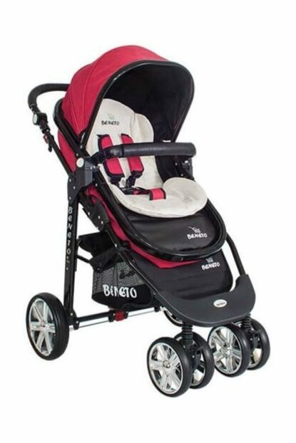 Bt-510 Black Line Travel System Baby Stroller with Main Arm Red 1763475