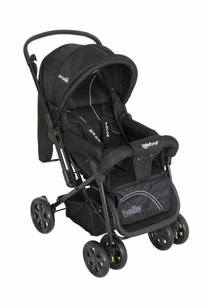 Baby Force Bella Two Way Baby Stroller Black / BF-19