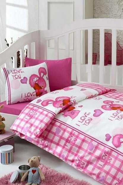 My Pink World Baby Duvet Cover Set 8680108019436