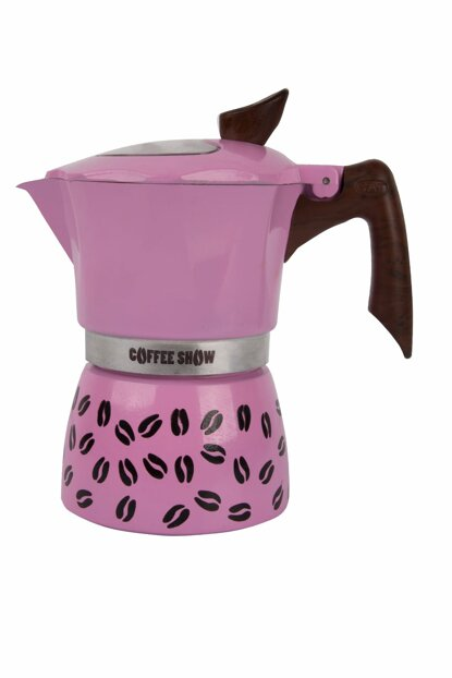 Coffee Show Espresso Machine For 6 People Pink GAT104606P
