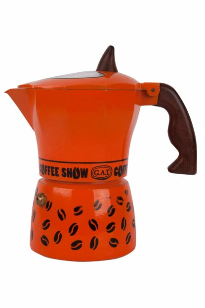 Coffee Show Espresso Machine 6 People Orange GAT104606T
