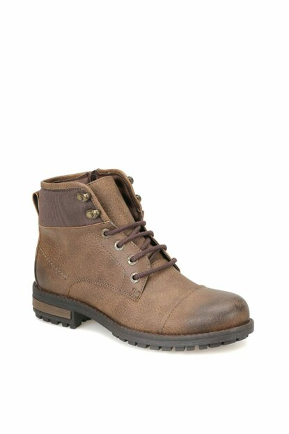 Brown Men's Boots 000000000100342205