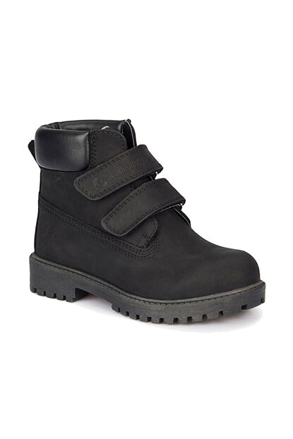 Black Boy Leather Boot RIVER