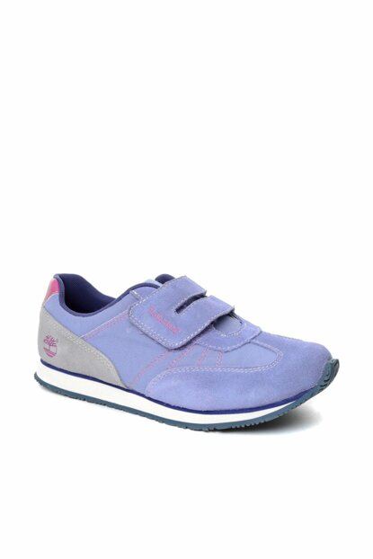 Periwinkle With Gray & Pink Girls' Boots & Bootie 1TIK20154010