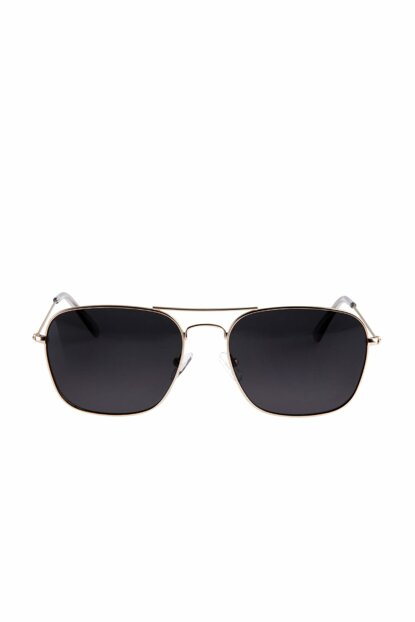 Men's Metal Sunglasses With Frame - 72975
