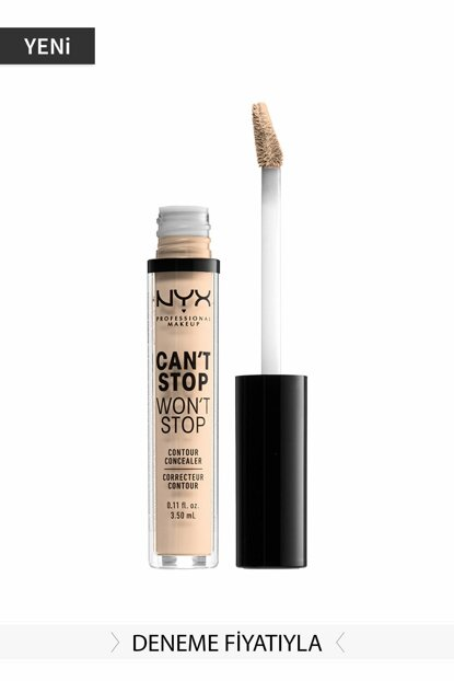 Concealer Concealer Light by Ivory 3.5 ml 800897168575 NYXCSWSCNCLR
