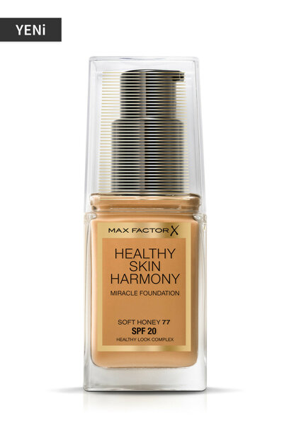 Foundation - Healthy Skin Harmony Miracle Foundation No: 77 Soft Honey 8005610433486